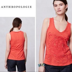 Meadow Rue Embellished Tank Top